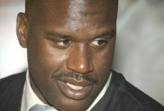 Basketball Star Shaq O'Neal