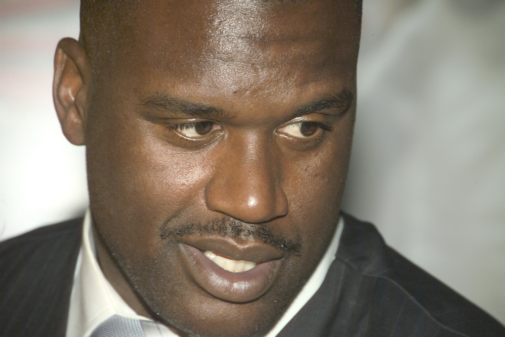 Basketball Star Shaq O'Neal