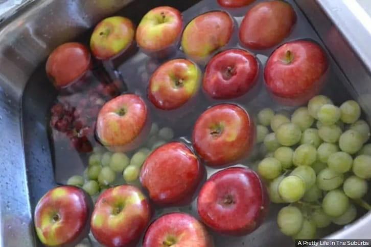 Lava tu fruta